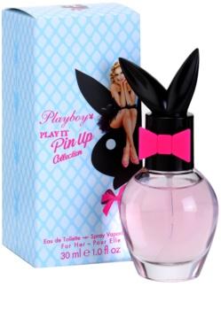 Playboy Play It Pin Up Eau de Toilette für Damen 30 ml