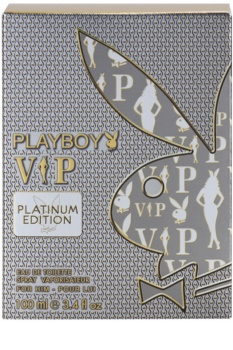 Playboy VIP Platinum Edition eau de toilette férfiaknak 100 ml