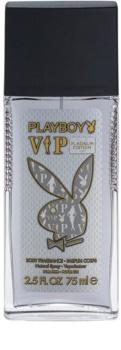 Playboy VIP Platinum Edition deodorant s rozprašovačem pro muže 75 ml