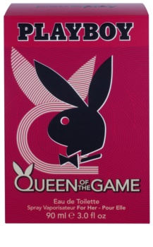 Playboy Queen Of The Game Eau de Toilette für Damen 90 ml