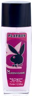 Playboy Queen Of The Game deodorant s rozprašovačom pre ženy