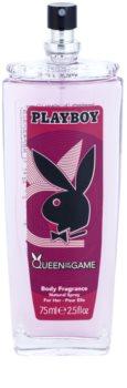 Playboy Queen Of The Game Deo met verstuiver voor Vrouwen  75 ml