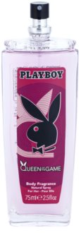 Playboy Queen Of The Game deodorant s rozprašovačem pro ženy 75 ml