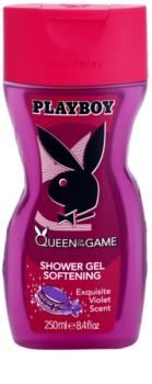 Playboy Queen Of The Game gel de dus pentru femei 250 ml