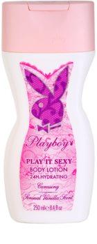 Playboy Play It Sexy lapte de corp pentru femei 250 ml