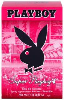 Playboy Super Playboy for Her eau de toilette pentru femei 90 ml