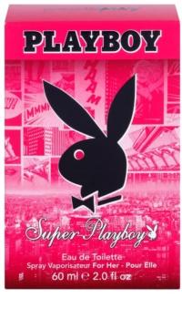 Playboy Super for Her woda toaletowa dla kobiet 60 ml