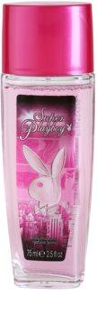 Playboy Super Playboy for Her Deo mit Zerstäuber für Damen 75 ml