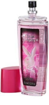 Playboy Super Playboy for Her deodorant s rozprašovačem pro ženy 75 ml