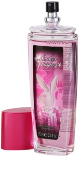 Playboy Super Playboy for Her deodorant s rozprašovačom pre ženy 75 ml