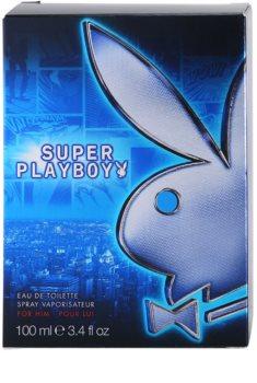 Playboy Super Playboy for Him eau de toilette pentru barbati 100 ml