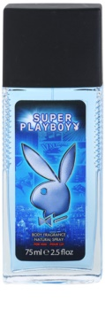 Playboy Super Playboy for Him Deo met verstuiver voor Mannen 75 ml