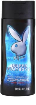 Playboy Super Playboy for Him żel pod prysznic dla mężczyzn 400 ml