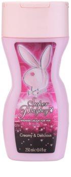 Playboy Super Playboy for Her Duschgel für Damen 250 ml