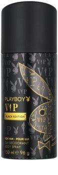 Playboy VIP Black Edition Deo Spray for Men 150 ml