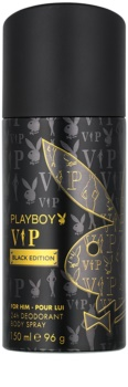 Playboy VIP Black Edition Deo Spray for Men 150 ml