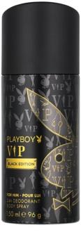 Playboy VIP Black Edition dezodor férfiaknak 150 ml