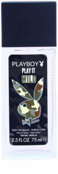 Playboy Play it Wild desodorante con pulverizador para hombre 75 ml