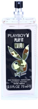 Playboy Play it Wild deodorant s rozprašovačom pre mužov 75 ml
