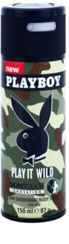 Playboy Play it Wild Deo-Spray für Herren 150 ml