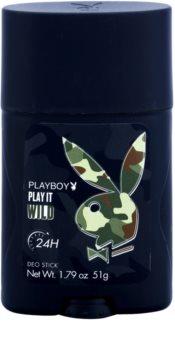 Playboy Play it Wild dezodorant w sztyfcie dla mężczyzn 51 g