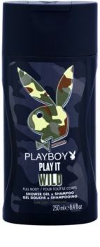 Playboy Play it Wild gel de dus pentru barbati 250 ml