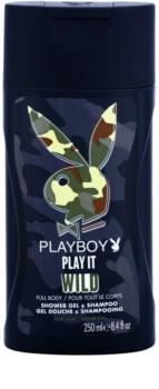 Playboy Play it Wild gel za prhanje za moške 250 ml