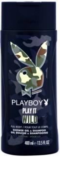 Playboy Play it Wild gel de duche para homens 400 ml