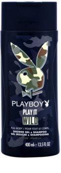 Playboy Play it Wild Shower Gel for Men 400 ml