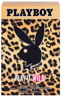 Playboy Play it Wild eau de toilette pentru femei 90 ml