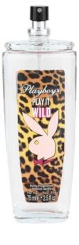 Playboy Play it Wild deodorant s rozprašovačem pro ženy 75 ml