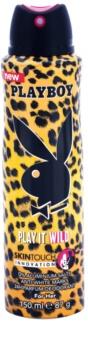 Playboy Play it Wild deospray pentru femei 150 ml