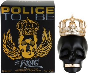 Police To Be The King Eau de Toilette para homens 125 ml