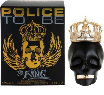 Police To Be The King eau de toilette pentru barbati