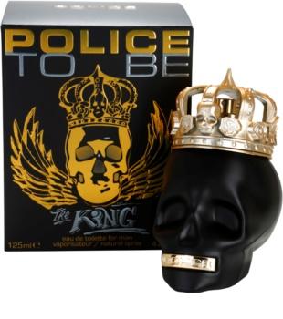 Police To Be The King eau de toilette férfiaknak 125 ml