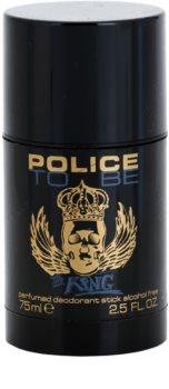 Police To Be The King deostick pentru barbati 75 ml