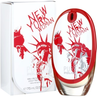 Police Pure New York Woman eau de toilette nőknek 75 ml