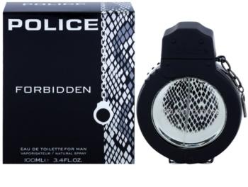 Police Forbidden Eau de Toilette for Men 100 ml