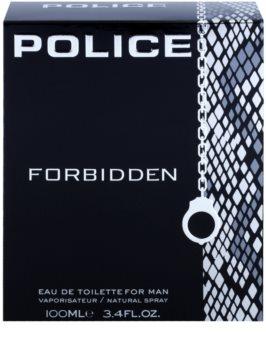 Police Forbidden eau de toilette pour homme 100 ml