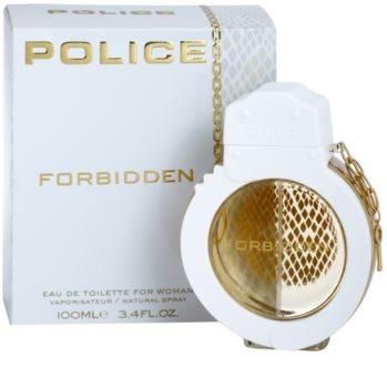 Police Forbidden Eau de Toilette for Women 100 ml