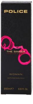 Police The Sinner mleczko do ciała dla kobiet 200 ml