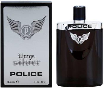 Police Silver Wings Eau de Toilette for Men 100 ml