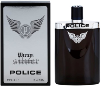 Police Silver Wings Eau de Toilette para homens 100 ml