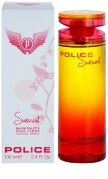 Police Sunscent Eau de Toilette para mulheres 100 ml