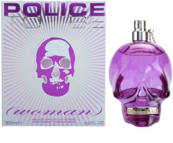 Police To Be Woman Eau de Parfum para mulheres 125 ml