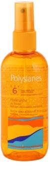 Polysianes Sun Care száraz olaj napozáshoz SPF 6