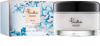Pomellato Nudo Blue Körpercreme für Damen 200 ml