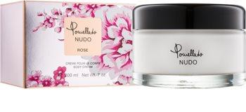 Pomellato Nudo Rose tělový krém pro ženy 200 ml