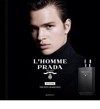 Prada L'Homme Intense eau de parfum pentru bărbați 100 ml
