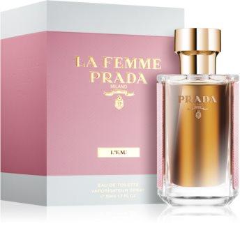 Prada La Femme L'Eau toaletní voda pro ženy 50 ml